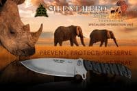 TOPS Silent Hero Knife by Anton Du Plessis